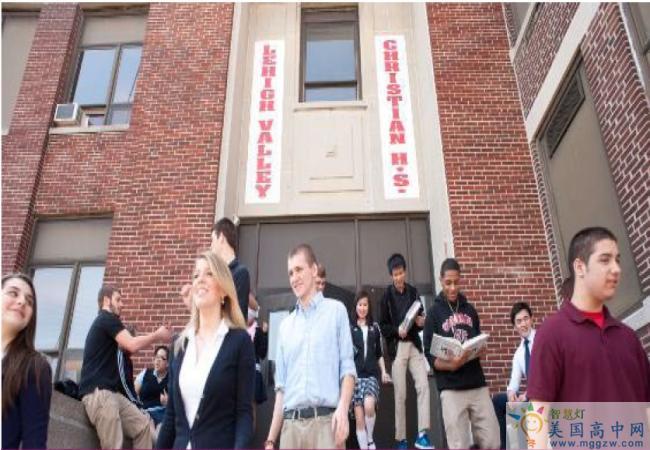 Lehigh Valley Christian High School-利哈伊谷基督中学-Lehigh Valley Christian High School教学楼.png