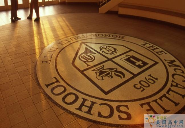 McCallie School-麦卡利男子中学-McCallie School的标识