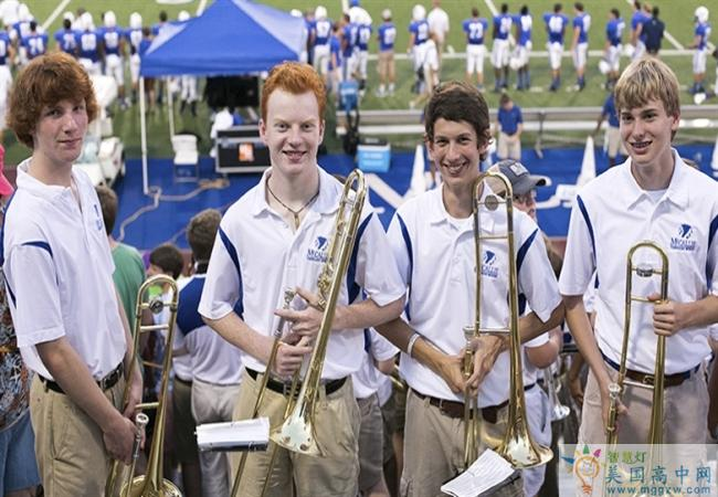 McCallie School-麦卡利男子中学-McCallie School的音乐演奏