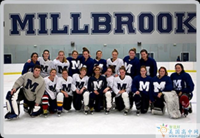Millbrook School-米尔布鲁克中学-Millbrook School的队员合影