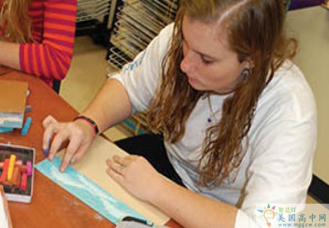 North Raleigh Christian Academy-北洛里中学-North Raleigh Christian Academy艺术课
