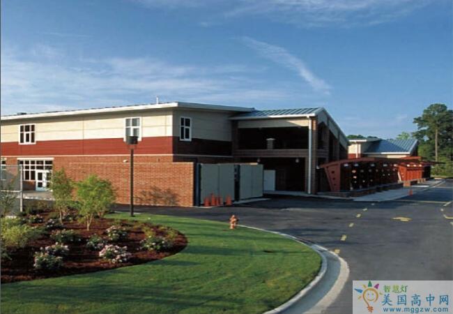 North Raleigh Christian Academy-北洛里中学-North Raleigh Christian Academy建筑物