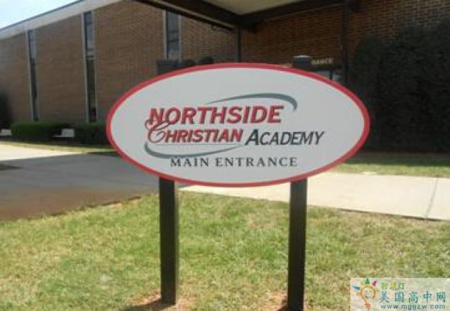 Northside Christian Academy-诺斯赛德基督中学-Northside Christian Academy标示牌.jpg