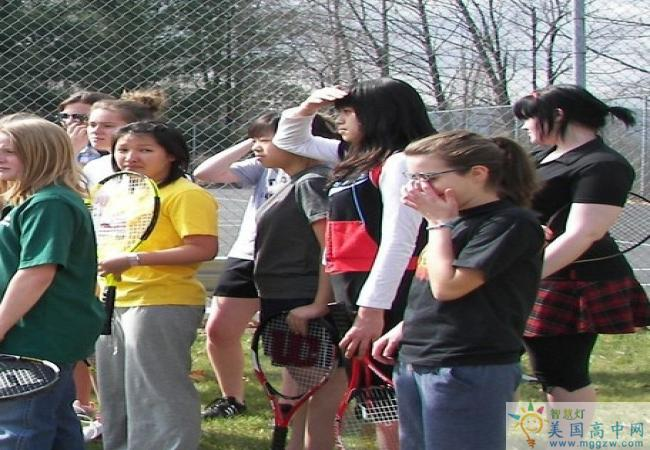 Oak Hill Academy-橡树山中学-Oak Hill Academy的网球运动员