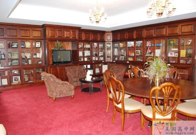 Oak Hill Academy-橡树山中学-Oak Hill Academy的会客室