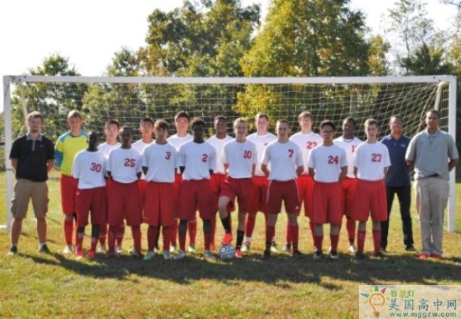 Oak Hill Academy-橡树山中学-Oak Hill Academy的足球队