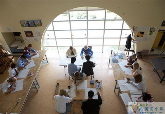 Portsmouth Abbey School-朴茨茅斯中学-Portsmouth Abbey School艺术工作室