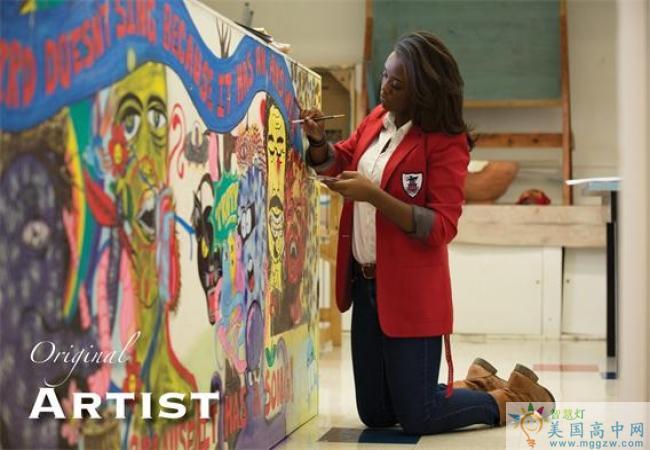 Purnell School-普奈尔女子高中 -Purnell School的艺术画作
