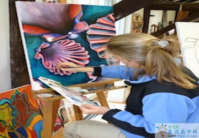 Purnell School-普奈尔女子高中 -Purnell School的视觉艺术
