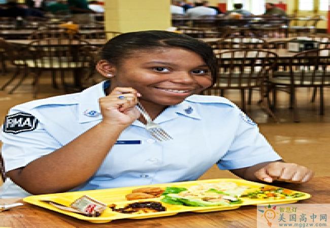 Randolph-Macon Academy-兰道夫马肯中学 -Randolph-Macon Academy的餐厅伙食