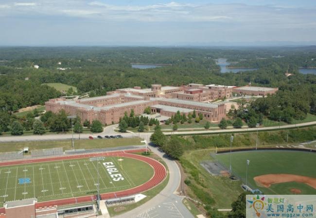 Riverside Military Academy-河滨军事中学-Riverside Military Academy的操场