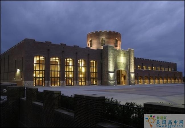 Riverside Military Academy-河滨军事中学-Riverside Military Academy的夜景