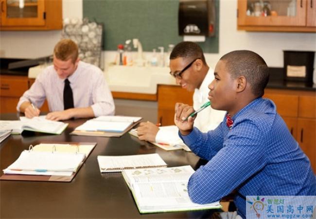 Saint James School -圣詹姆斯中学-Saint James School正在学习的学生