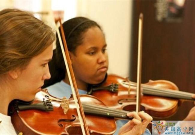Saint Mary's School-圣玛丽女子中学-Saint Mary's School的小提琴演奏