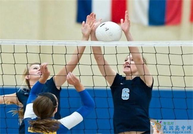 Saint Mary's School-圣玛丽女子中学-Saint Mary's School的排球赛