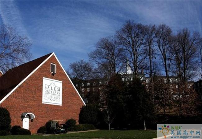 Salem Academy-塞伦女子中学-Salem Academy的建筑