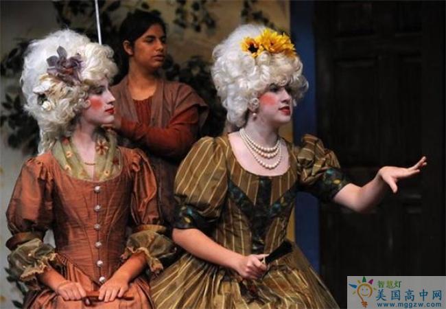 Salem Academy-塞伦女子中学-Salem Academy的文艺表演