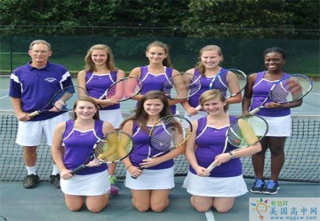 Salem Academy-塞伦女子中学-Salem Academy的网球队
