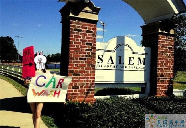 Salem Academy-塞伦女子中学-Salem Academy的大门