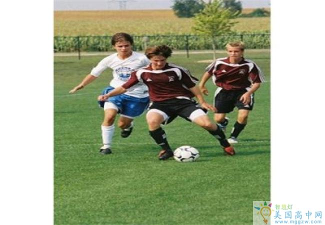 Shattuck-St. Mary's School-沙特克圣玛丽高中-ShattuckStMarys School的足球比赛.