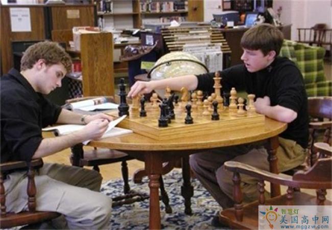 Shattuck-St. Mary's School-沙特克圣玛丽高中-ShattuckStMarys School的象棋对弈