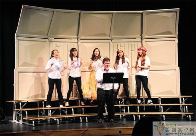 St. Andrew's School - RI -圣安德鲁中学(罗德岛)-StAndrews School - RI的歌唱表演