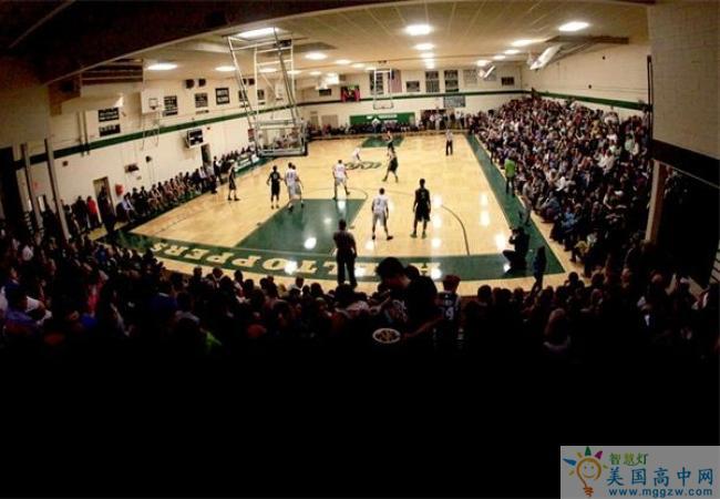 St. Johnsbury Academy -圣约翰博锐中学-StJohnsbury Academy的篮球比赛
