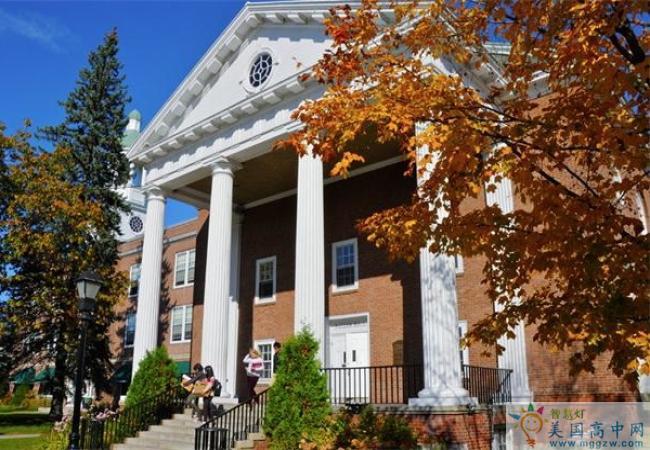 St. Johnsbury Academy -圣约翰博锐中学-StJohnsbury Academy的建筑