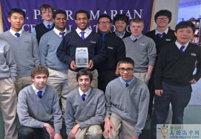 St. Peter-Marian Junior and Senior High School-圣彼得玛丽中学-St-Peter-Marian Junior and Senior High School的学生合影