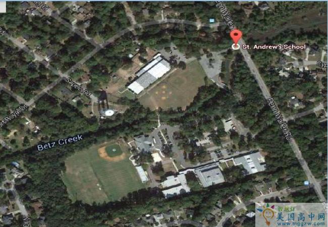 St.Andrew's School-圣安德鲁斯中学-St-Andrew's School鸟瞰图