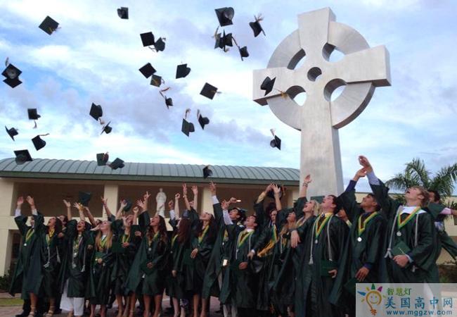 St.John Neumann Catholic High School-圣约翰诺依曼天主中学-St-John Neumann Catholic High School毕业典礼