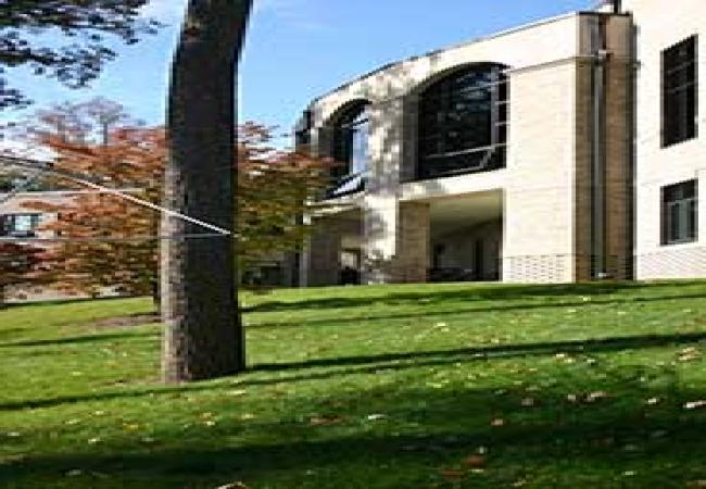 The Hun School of Princeton -普林斯顿胡恩高中-Hun School of Princeton的校园一角