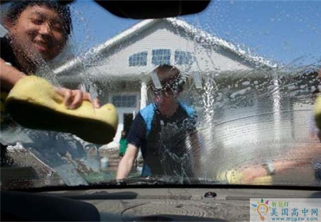 The Stony Brook School-斯托尼布鲁克中学-Stony Brook School的洗车
