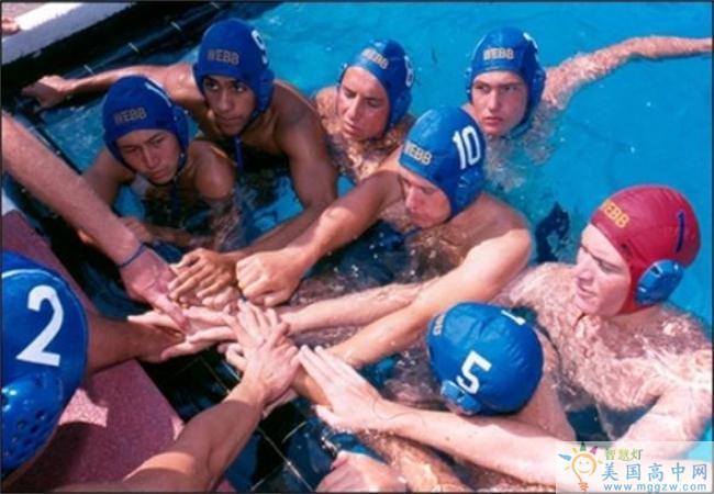 The Webb Schools-韦伯高中  -The Webb Schools的游泳运动员