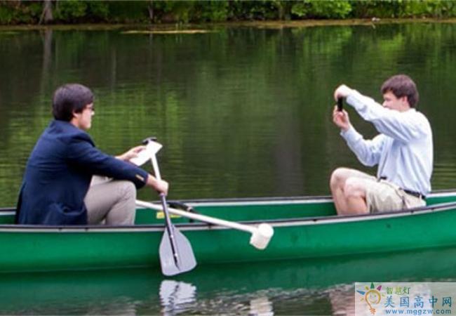 Trinity Pawling School-圣三一珀林男子中学-Trinity Pawling School的水上泛舟