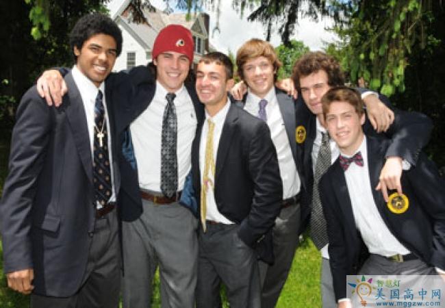 Trinity Pawling School-圣三一珀林男子中学-Trinity Pawling School的学生