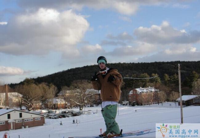 Vermont Academy-佛蒙特中学-Vermont Academy 滑雪