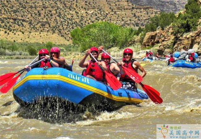 Wasatch Academy-瓦萨琪中学-Wasatch Academy的水上旅行