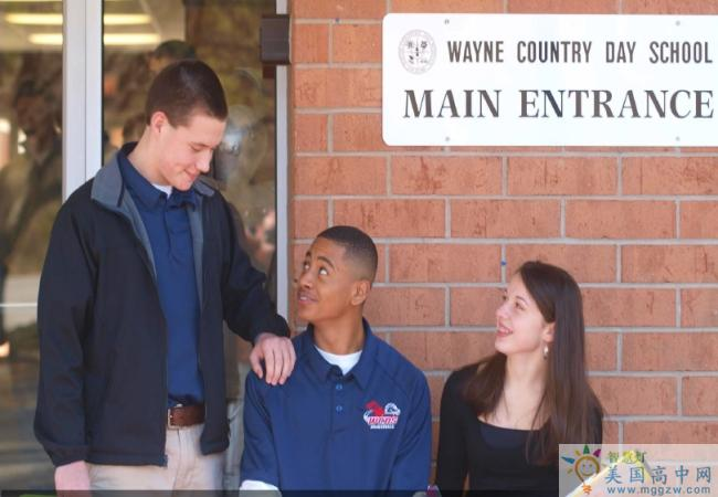 Wayne Country Day School-韦恩日校中学-Wayne Country Day School学校留影