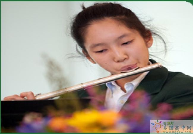 Western Reserve Academy-西储中学-Western Reserve Academy的笛子演奏