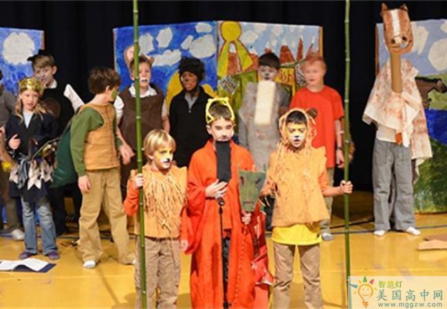 Westtown School-西城中学-Westtown School的小学文艺表演
