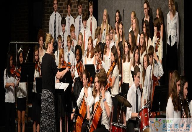 Westtown School-西城中学-Westtown School的音乐演出